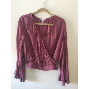 nwt cropped blouse